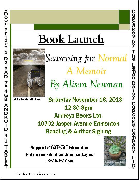 Book Launch Invite