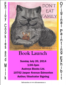 Don't Eat Family Book Launch