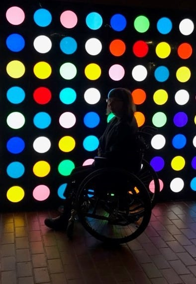 Lights Behind Alison